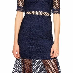 Bardot Fiona Mesh Dress